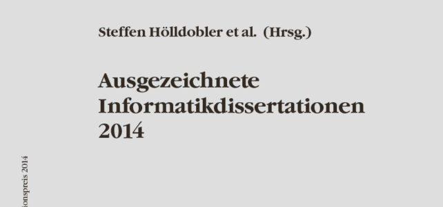 Dissertation von Dr. Christian Reuter durch Universität Siegen für den GI-Dissertationspreis vorgeschlagen