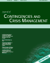 JCCM17: Journal of Contingencies and Crisis Management (JCCM)