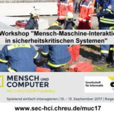 Erfolgreicher 4. Workshop Mensch-Maschine-Interaktion in sicherheitskritischen Systemen