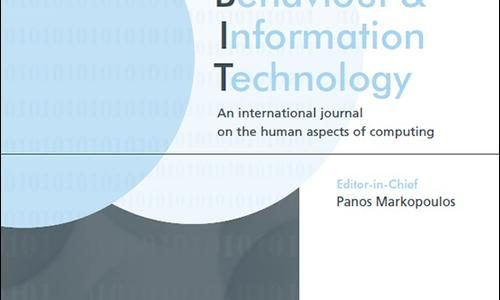 "PEASEC published Special Issue on ""Social Media in Conflicts and Crises"" in A-Level Journal ""Behaviour & Information Technology (BIT)"""