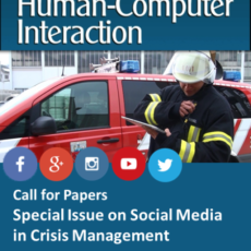 "Special Issue on ""Social Media in Crisis Management"" now published in the ""International Journal of Human–Computer Interaction"""