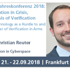 Vortrag auf HSFK-Jahreskonferenz 2018: Verification in Crisis, the Crisis of Verification