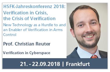Vortrag auf HSFK-Jahreskonferenz 2018: Verification in Crisis, the Crisis of Verification