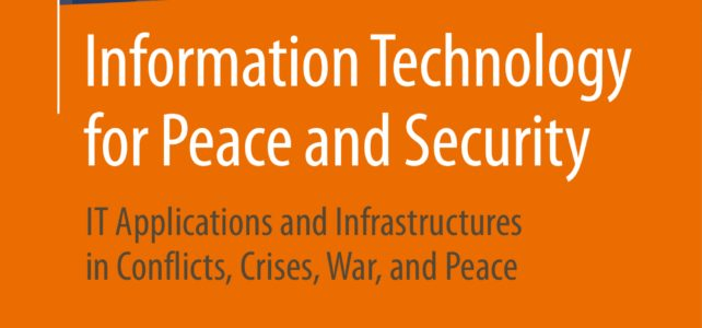 Rezension zum Lehrbuch 'Information Technology for Peace and Security' in Wissenschaft und Frieden (4/2019)