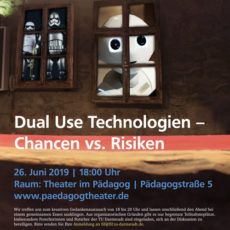 Rückblick: DenkRum 2/19: Dual Use-Technologien – Chancen vs. Risiken