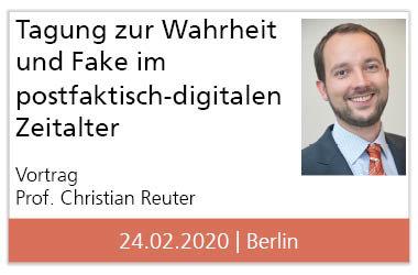 """Konferenz """"Wahrheit und Fake im postfaktisch-digitalen Zeitalter"""" in der Gedenkstätte Berlin-Hohenschönhausen – Vortrag zu """"Technische Unterstützungsansätze für den Umgang mit Fake News"""""""
