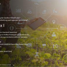 PEASEC-Projekt Geobox-I auf den Innovationstagen des Bundesministerium für Ernährung undLandwirtschaft vertreten