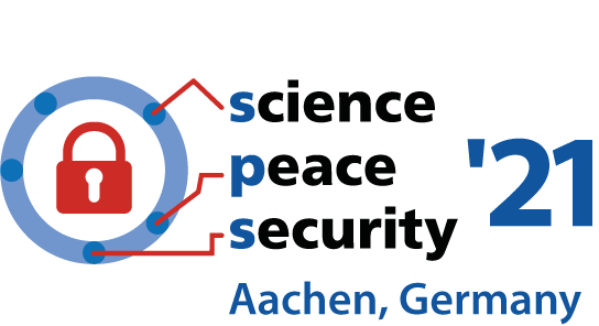Call for Contributions: SCIENCE · PEACE · SECURITY '21 – The impact of new technologies: Between destabilization and enabling resilience (8-10 Sep. 2021, Aachen/Hybrid; DL 31.3.2021)
