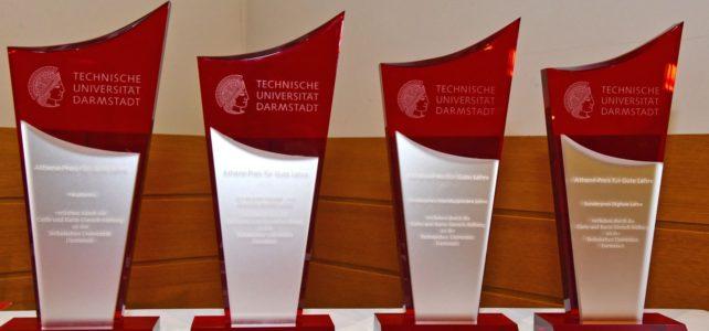 Athene-Preis 2020 – Sonderpreis Interdisziplinäre Lehre – für PEASEC für das Engagement im Aufbau der interdisziplinären Lehre in der Schnittmenge von Informatik, Frieden und Sicherheit