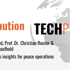100 Voices on Technology & Peace Operations: Crisis informatics insights for peace operations
