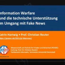 GI-Online-Vortrag: Information Warfare und die technische Unterstützung im Umgang mit Fake News