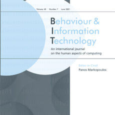 Call for Papers: Usable Security and Privacy with User-Centered Interventions and Transparency Mechanisms (Special Issue in Behaviour & Information Technology)